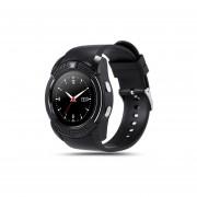 Reloj Smartwatch, V8 Apoyo Sim TF Tarjeta Slot Bluetooth Reloj De Pulsera Reloj Smartwatch (negro)
