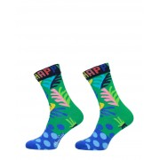 Happy Socks - Big Leaf Socks - Groen - Size: 41-46
