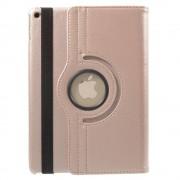 Javu - iPad Air 2 Hoes - Rotatie Cover Lychee Rosé Goud