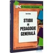 Studii de pedagogie generala - Sorin Cristea
