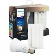 Pachet bec inteligent LED Philips HUE Bluetooth/Wireless E27 8.5W 60W 806lm A+ lumina alba + Intrerupator
