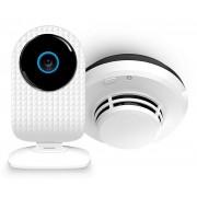 Pachet Smoke Safe Allview SCAMSmoke, SmartCam + Senzor Fum (Alb)