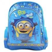 Ghiozdan scoala Minions Blue Bob, 38x29x11 cm