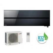 MITSUBISHI ELECTRIC KIRIGAMINE STYLE ONYX BLACK MSZ-LN25VGB/MUZ-LN25VG 9000 BTU WI-FI A+++/A+++ - Gas R-32