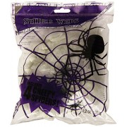 Amscan International 34806 Spider Web with 4 Spiders, Small