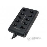 LogiLink 10 portni hub, USB 2.0