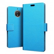 Just in Case Wallet Motorola Moto G5S Plus Book Case Blauw