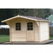Cabaña de madera Orquidea 320x320 cm para Jardín