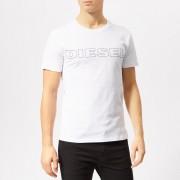 Diesel Men's Jake Logo T-Shirt - White - M - White