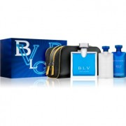 Bvlgari BLV pour homme coffret III. Eau de Toilette 100 ml + gel de duche 75 ml + bálsamo after shave 75 ml + bolsa de cosméticos