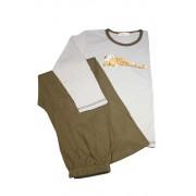 Trey chlapecké pyžamo 11-12 let šedomodrá