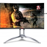 "Monitor VA, AOC 27"", AG273QCX, Curved, 144Hz, 1ms, 50Mln:1, HDMI/DP, Speakers, 2560x1440"