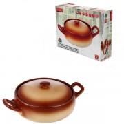 Cratita ceramica cu capac Vabene VB6020039 2.5L