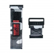 Curea material textil UAG Active Strap Apple Watch (44/42mm) Midnight Camo