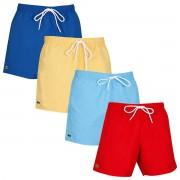 Lacoste Shorts de bain Lacoste Mens 2020 MH6270 Drawcord Waist Elasticated Pool Beach Daba/Cicer Size 3 - S