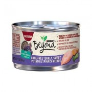 Purina Beyond Grain-Free Turkey, Sweet Potato & Spinach Recipe in Gravy Canned Cat Food, 3-oz, case of 12