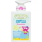 Jack N' Jill Sweetness gel de duș și șampon delicat pentru copii 2 in 1 300 ml