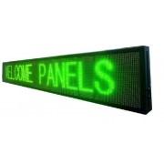 Reclama Luminoasa tip Panou cu LEDuri Lumina Verde 137x40cm