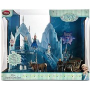 Disney Frozen Elsa Musical Ice Castle Playset 2nd Version with Sleigh