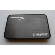 "Kingston HyperX SSD 2.5"" SATA III 6.0 Gb/s USB 2.0 Enclosure"