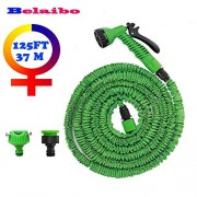 SLB Works Expandable Garden Hose Water 2017 Most Popular for Garden/Car Watering Flexible Water Hose with 7 in 1 Spray Gun car-Styling