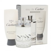 Cartier Eau De Cartier, Edt 100ml+ 100ml Sprchový gel