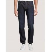 TOM TAILOR Marvin Straight Jeans, Heren, dark stone wash denim, 36/30