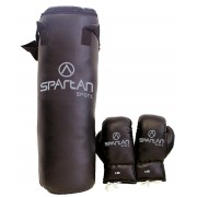 Sac box+manusi Black Spartan