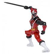 """Power Rangers 25906 Ninja Steel Red Ranger Action Hero Figure, 5"""""""