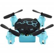 Drone Quadcopter FQ777 FQ04 0.3MP Camera-Negro + Azul