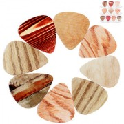 Futaba Wood grain Guitar Picks - Medium - 0.71mm