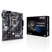 Asus Tarjeta Madre Prime H410M-A/CSM Intel IntelSocketLGA1200for10thGenIntelCore,PentiumGoldandCeleronProcesador LGA1200 H410