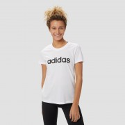 adidas Essentials linear slim shirt wit dames Dames