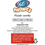 Pati's Phonics Silent Letters in Words Flash Cards