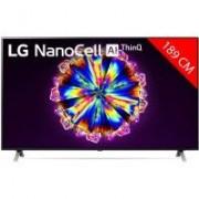 LG TV LED 4K 189 cm LG 75NANO906NA