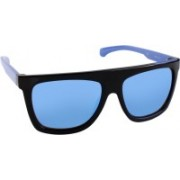 Calvin Klein Jeans Rectangular Sunglasses(Blue)
