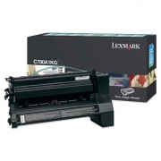 LEXMARK Cartridge for C780, C782 series, Black - 6000pages (C780A1KG)