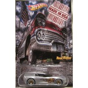 Hot Wheels CUSTOM '14 CORVETTE STINGRAY 'Made in USA' Series Real Riders Rubber Wheels Limited Edition 1/25 Made !