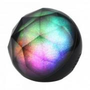 LED lámpa , hordozható , beépített hangszóróval , Bluetooth , színes hangulatvilágítás , kerek , 3W , RGB , USB