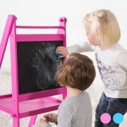 Svarta Tavlan Till Barn Blå