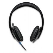 Logitech 981-000480 H540 PC/Gaming Binaural Head-band black Digital Wired