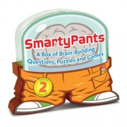 Melissa & Doug Smarty Pants, Grade 2: 120 Brain-Building Cards with Questions, Puzzles, and Games