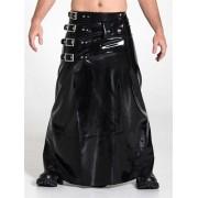 Mister B Rubber Long Buckle Skirt Costume 352020
