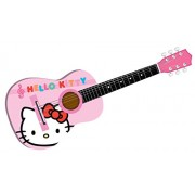 LEGO Hello Kitty Black And Red 30'' Designer Acoustic Guitar Brand New