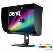 """Monitor IPS LED BenQ 31.5"""" SW320, Ultra HD (3840 x 2160), HDMi, DisplayPort, USB 3.0, Pivot, 5 ms (Negru)"""