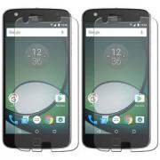 Mobik Tempered Glass for Motorola Moto Z Play - Pack of 2