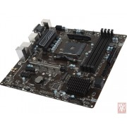 MSI B350M PRO-VDH, AMD B350, VGA by CPU, PCI-Ex16, 4xDDR4, M.2, VGA/DVI/HDMI/USB3.1(Gen1), mATX (Socket AM4)