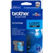 Original Brother LC67C Cyan Ink Cartridge (LC-67C)