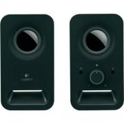 Hangszóró, 2.0, 6W, LOGITECH Z150, fekete (LGHZ150B)