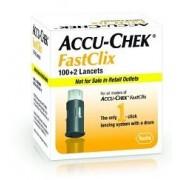 Roche Diabetes Care Italy Spa Lancette Pungidito Accu-Chek Fastclix 100 + 2 Pezzi